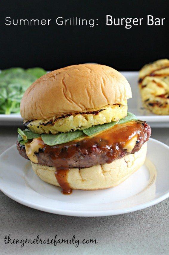 Summer Grilling Burger Bar