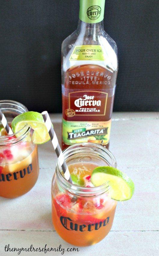 Fruity Lemonade Teagarita Mixed Drinks