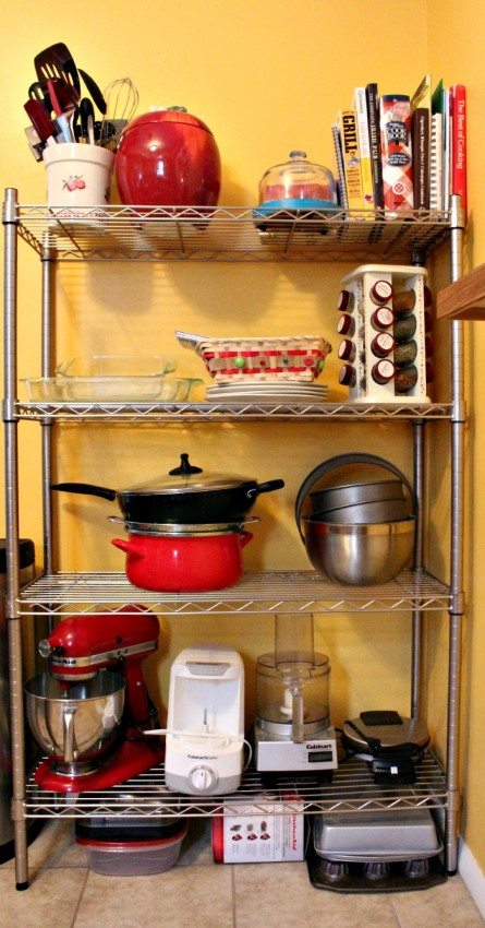 Kitchen Organization for Toddler Safety