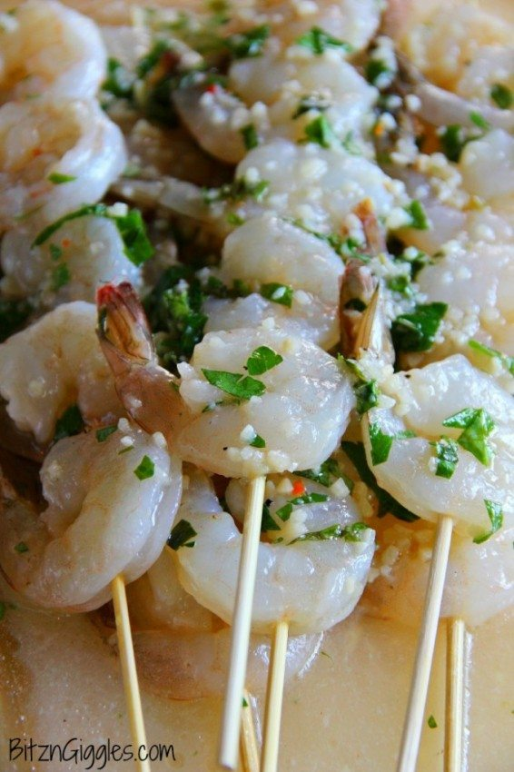 Lemon Basil Shrimp Marinade for Grilling