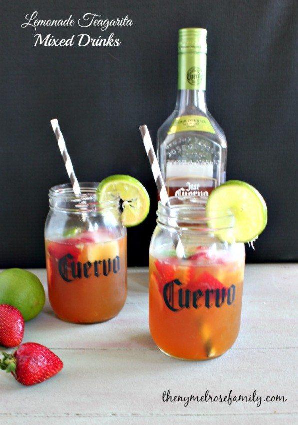 Lemonade Teagarita Mixed Drinks