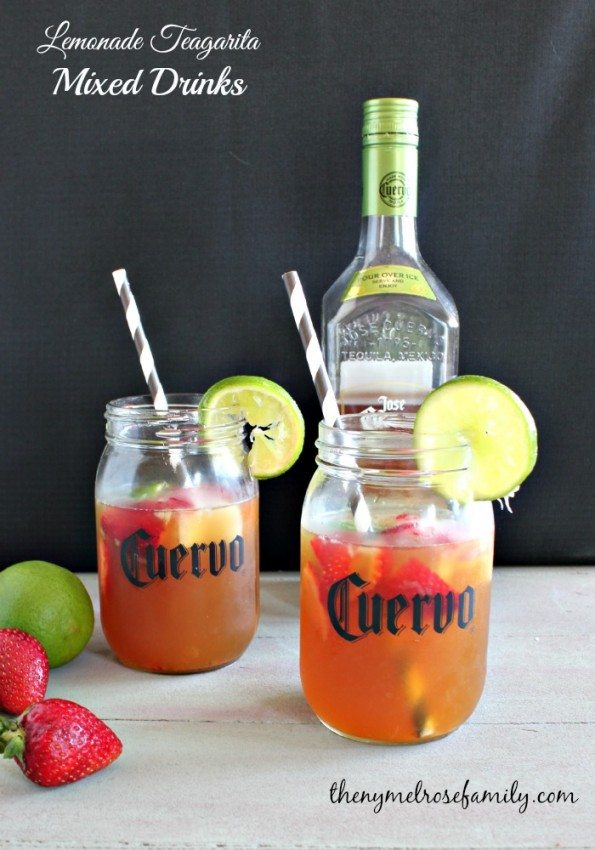 Lemonade Teagarita Mixed Drinks
