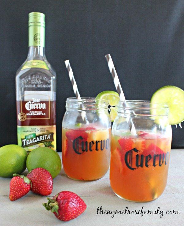 Mulled Fruit Lemonade Teagarita Mixed Drinks