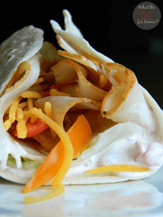 Spicy-Chipotle-Chicken-Wrap
