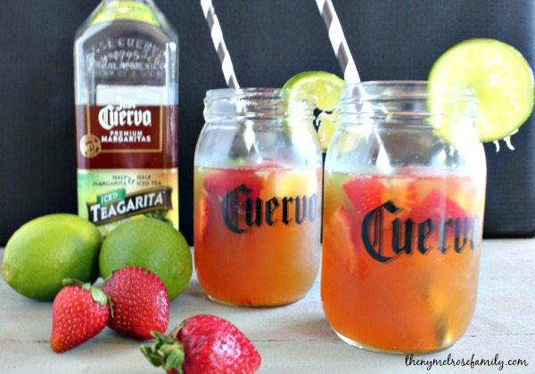 Teagarita Mixed Drinks