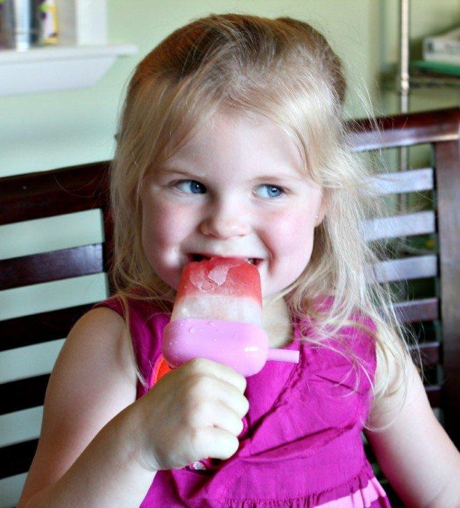 Wild for Wet Ones Watermelon Lemonade Popsicles