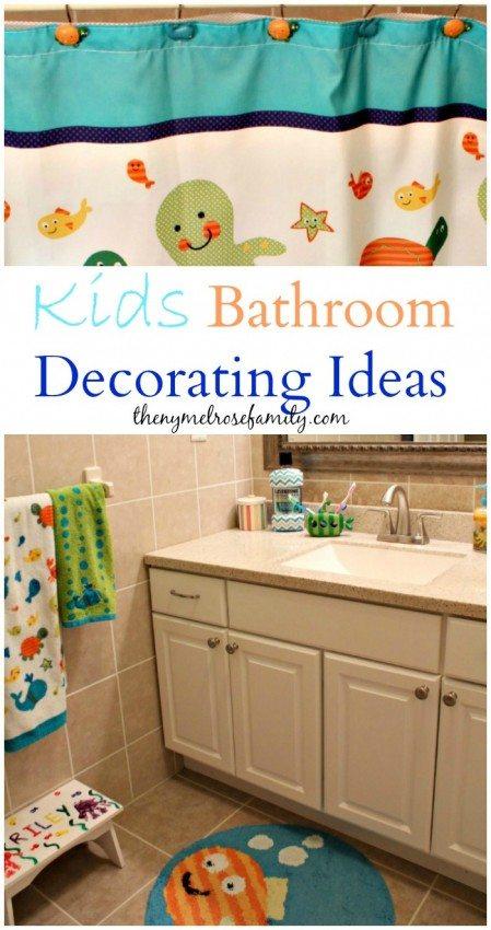 Kids bathroom decorating ideas the ny melrose family part 2 - Bathroom design ideas for kids ...