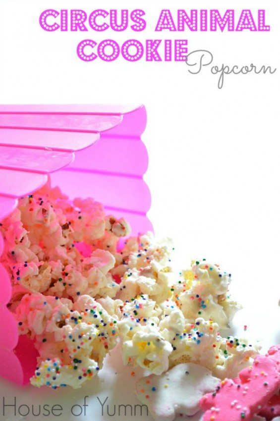 Popcorn Recipes: Circus Animal Cookie