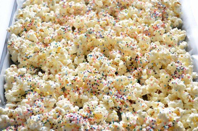 Popcorn Recipes: Sprinkles