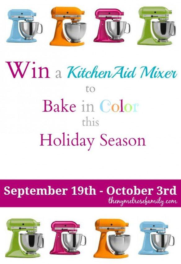 KitchenAid Mixer Giveaway