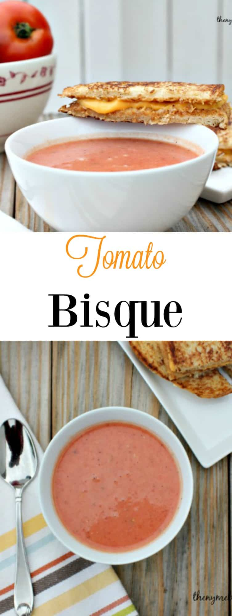 Tomato Bisque is the perfect comforting soup that the whole family will love!