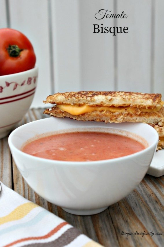 Tomato Bisque - The Melrose Family