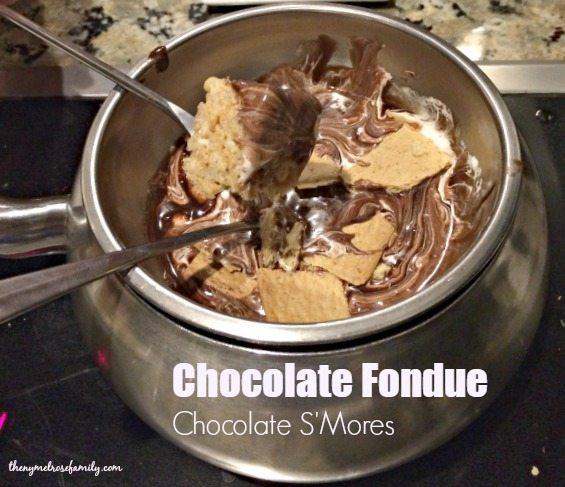 Date Night Ideas Chocolate Fondue