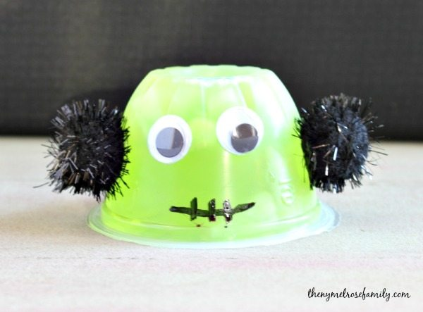 Frankenstein Halloween Treats for Toddlers