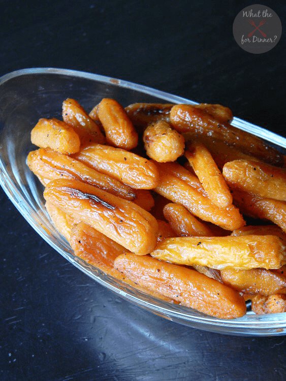 Honey Roasted Carrots Side Dish