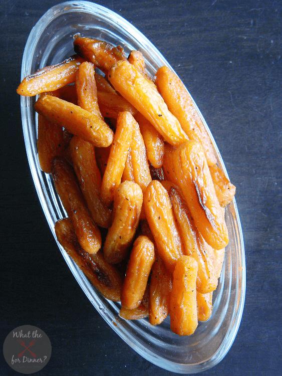 Honey Roasted Carrots Thanksgiving Side