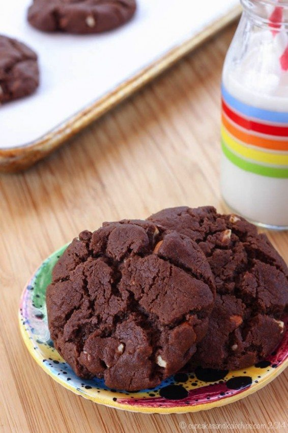 Flourless Chocolate Almond Cookies Recipe