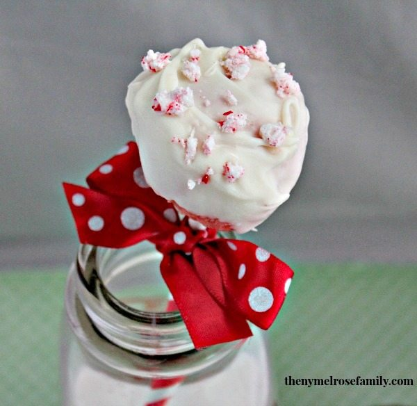 Holiday Red Velvet Cake Pops