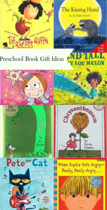 Preschool Book Gift Ideas