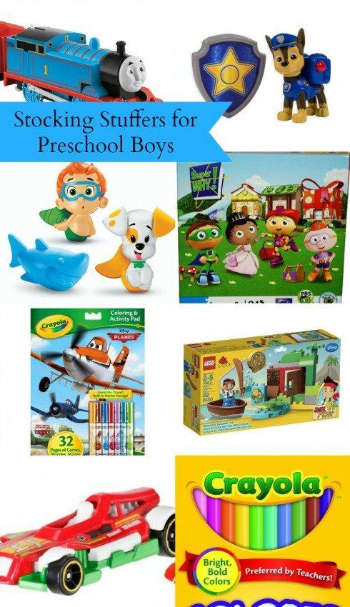 Stocking Stuffers for Preschool Boys