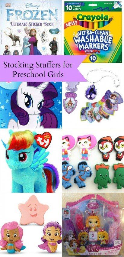 Stocking Stuffers for Preschool Girls