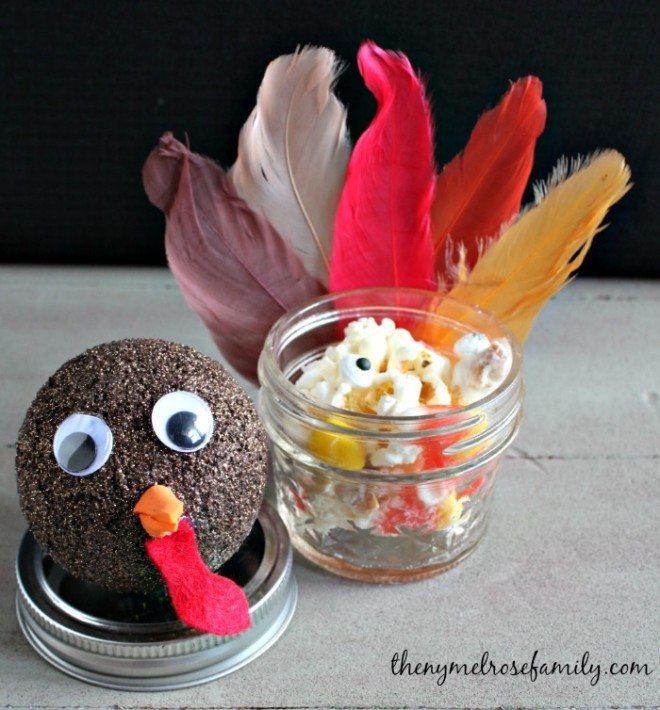 Thanksgiving Mason Jar Gift