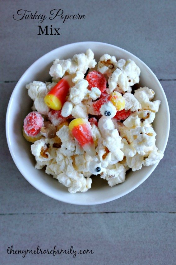 Turkey Popcorn Mix
