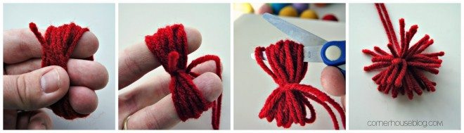 wm corner house make a yarn ball