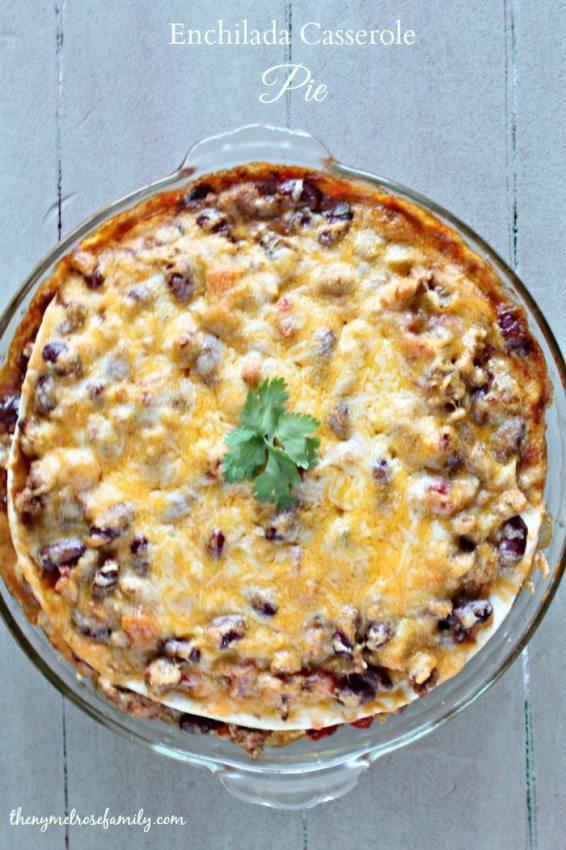 Enchilada Casserole Pie