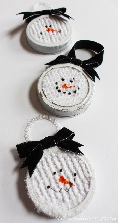 Mason-Jar-Lid-Snowman-Ornament-2