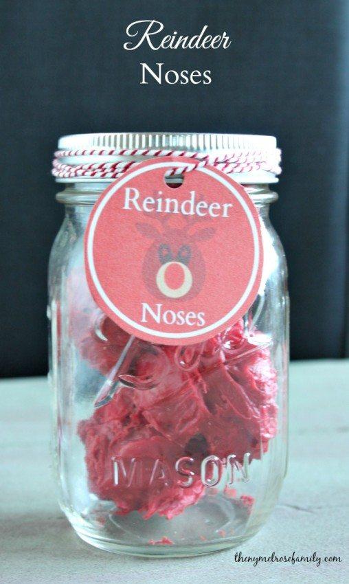 Reindeer Noses Cake Treats