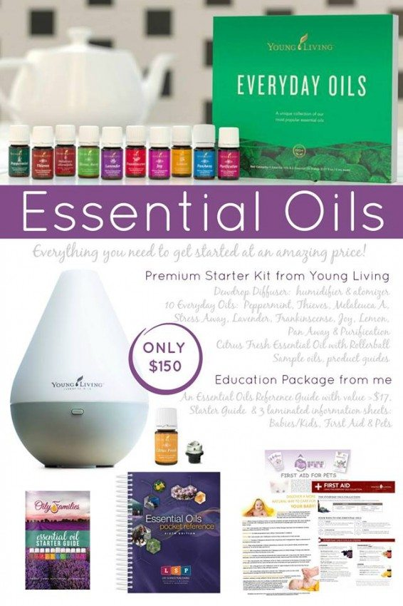 february essential oil deal