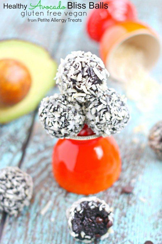 Chocolate Avocado Bliss Bar