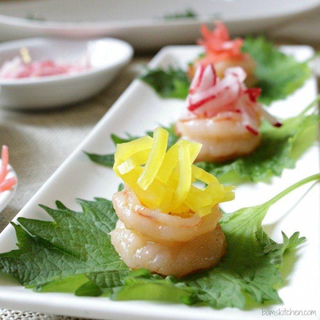 Garlic Shrimp Boats
