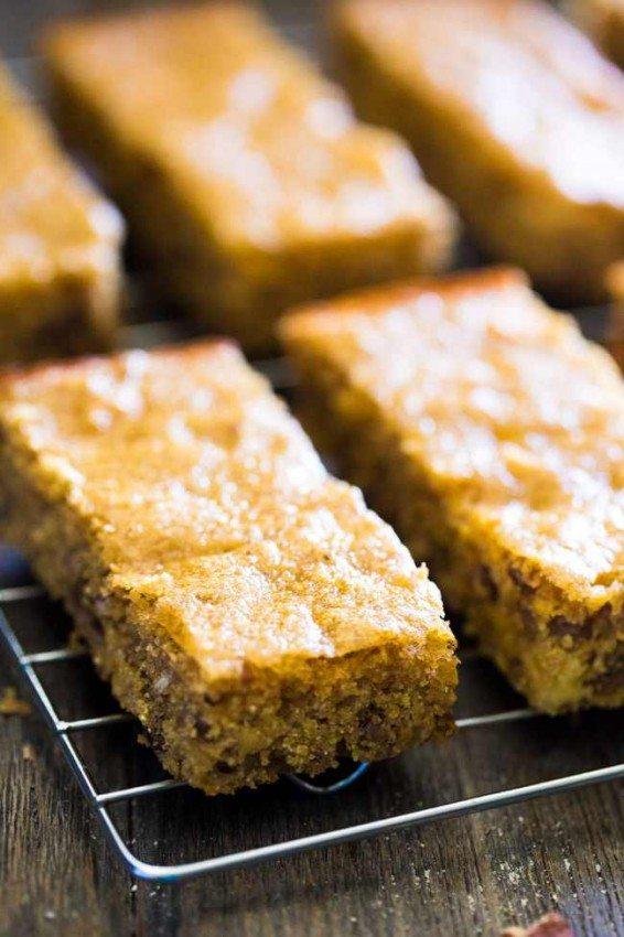 Healthy Cornbread Protein Bar