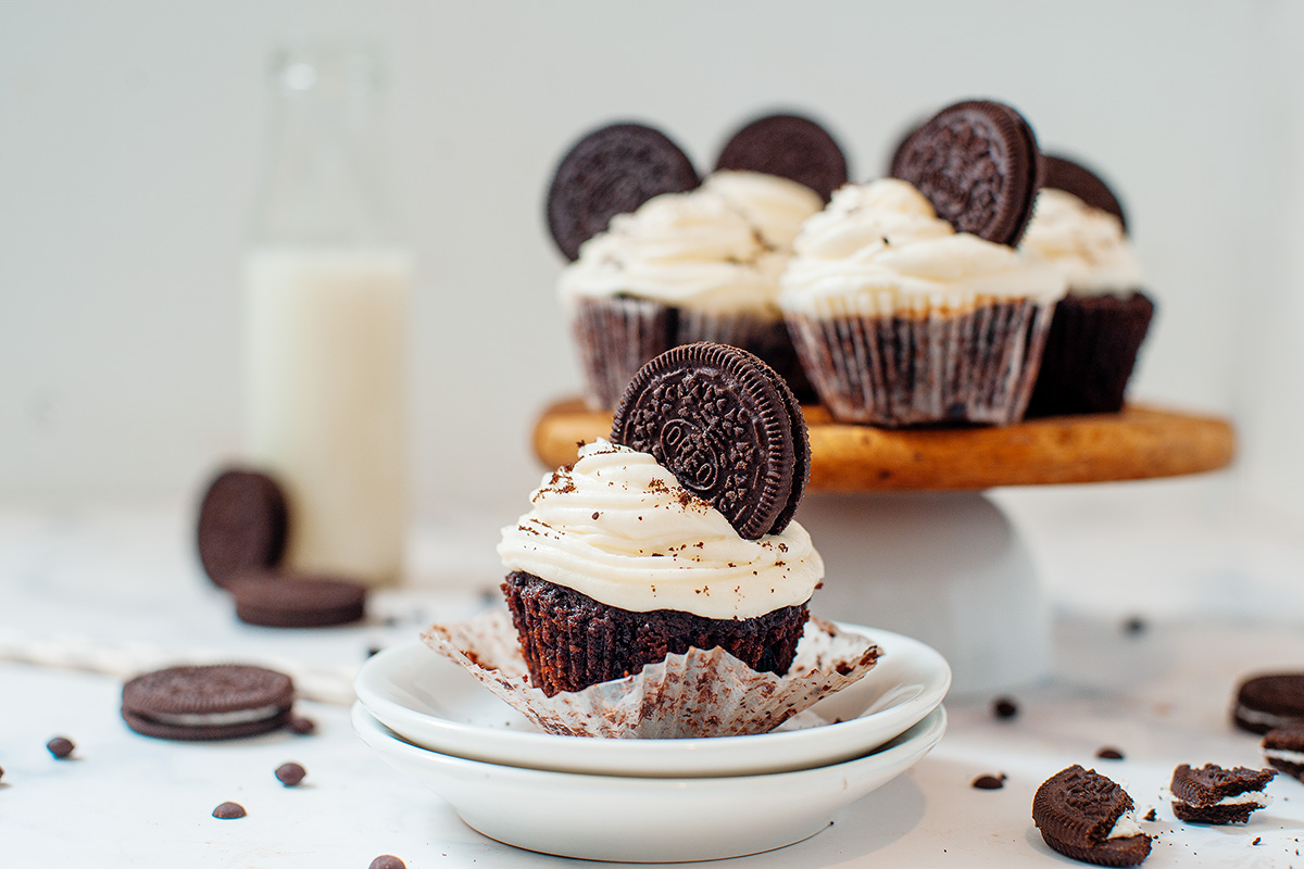 The Ultimate Oreo Cupcake!