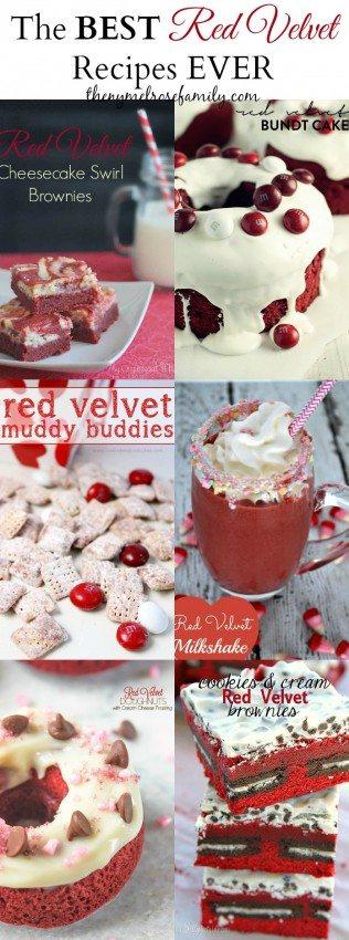 The BEST Red Velvet Recipes
