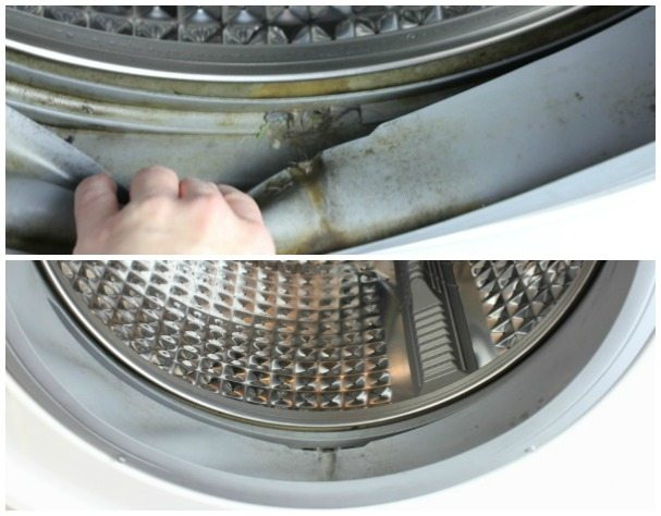 front load washer before and after