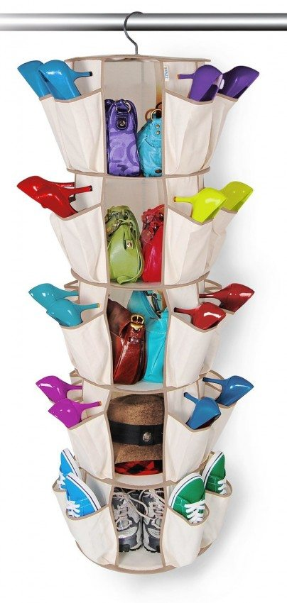 shoe and bag organizer