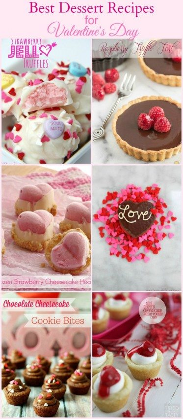 Best dessert recipes for valentine s day the ny melrose for Best valentines day meals