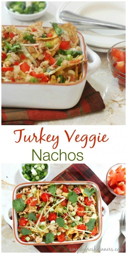 Healthy Turkey Nachos
