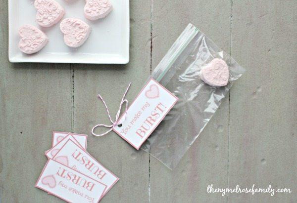 Heart burst Valentines