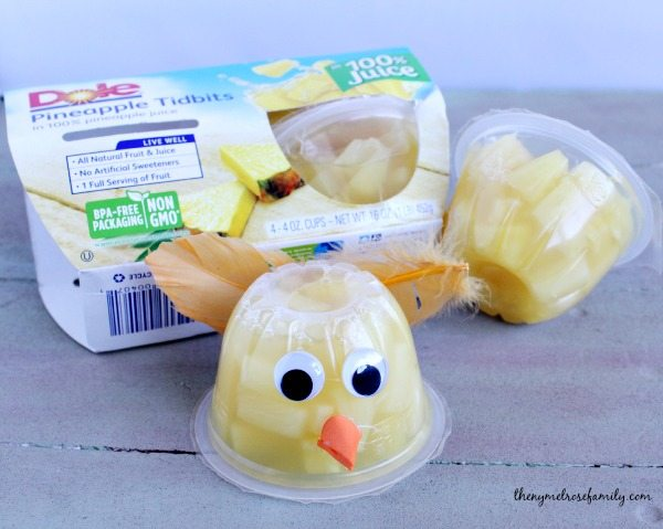 Chick Fruit Cups with Dole Pineapples