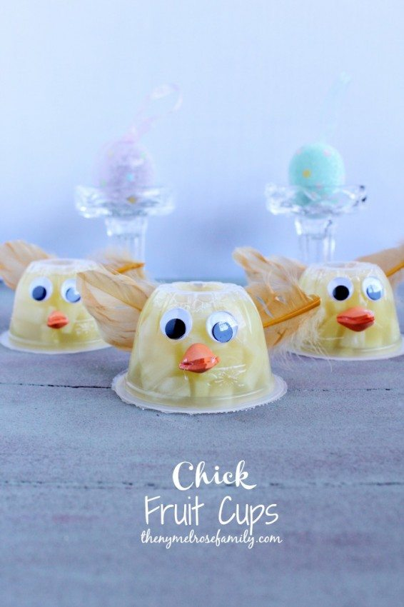 Chick Fruit Cups