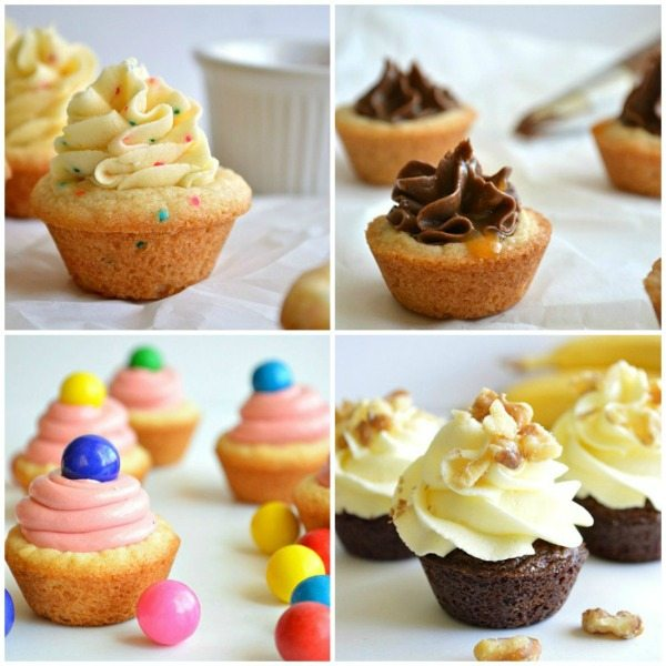 House of Yumm Cookie Cup Collage