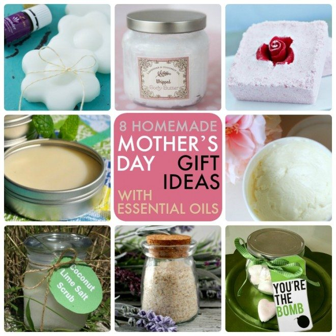 Mother's Day Gifts with Essential Oils