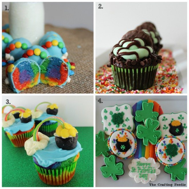 St. Patty's Day Recipe Collage