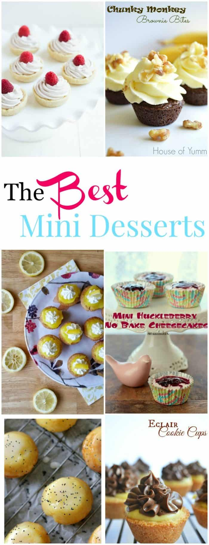 The BEST Mini Desserts