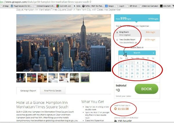 how to find the best vacation deals online