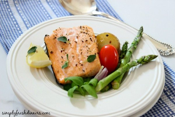 Baked Salmon One Dish Meal